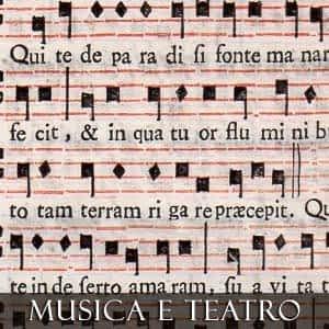 MUSICA E TEATRO