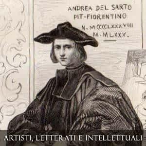 ARTISTI, LETTERATI E INTELLETTUALI